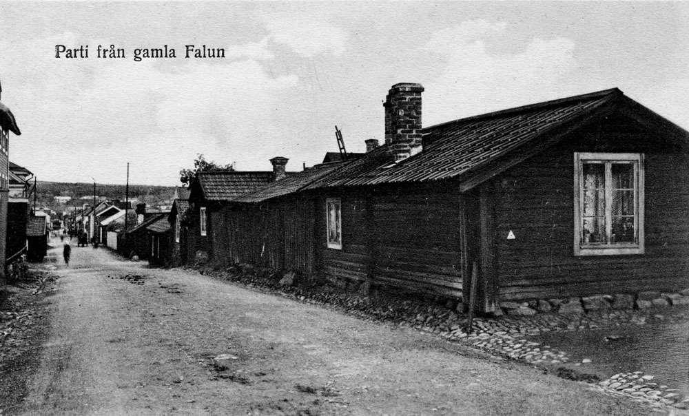 Gruvgatan i början av 1900-talet
