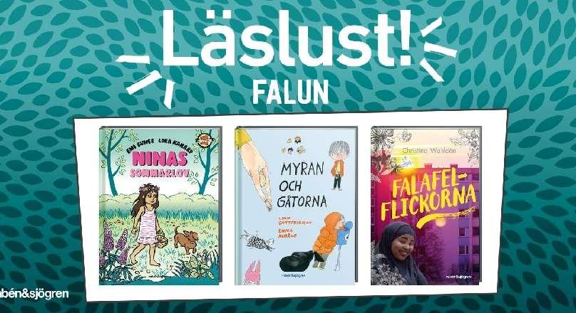Omslagsbilder på tre barn- och ungdomsböcker
